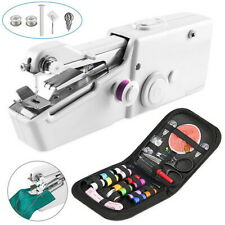 Mini Electric Hand-held Sewing Machine Tailor Stitch Sewing&Sewing Kit Portable#