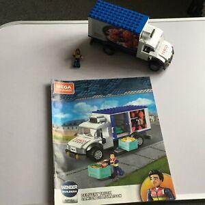 Mega construx Tesco Delivery Van & figure