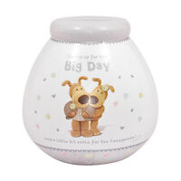 Boofle Wedding Day Fund Pot of Dreams Money Box Bank Savings