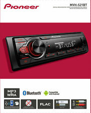 Pioneer MVH-S21BT Bluetooth Car Stereo Receiver AM/FM Auto Audio System Radio