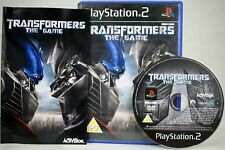 Transformers The Game   PlayStation 2   PS2   PAL   Complete with Manual