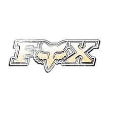 Fox Racing Podium Sticker 5.5 Inch Yellow
