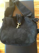 RALPH LAUREN COLLECTION ITALY Shearling Leather Fur HOBO Tote Purse NWT $1400
