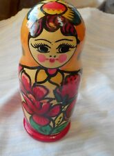 Stacking lady dolls Wooden Russian Nesting Dolls 3 Stacking dolls wooden
