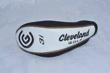 Cleveland Launcher Halo 3i hybrid rescue black/white/gold headcover cover ex