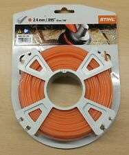 Genuine STIHL Nylon Brushcutter / Strimmer Nylon Line Round Profile  2.4mm x 43m