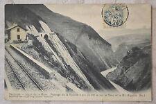"""CPA """" Ligne de la Mure - Passage de la Rivoire"""