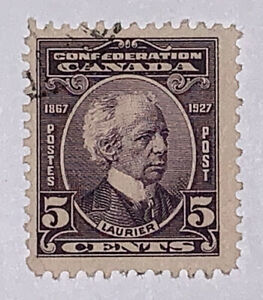 Travelstamps: Canada Stamps Scott #144 1927 Confed. Anniv. Sir Wilfred Laurier