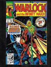 Warlock & The Infinity Watch #1 ~ (9.0+) Collector Item Issue - WH