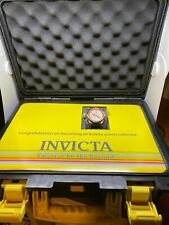 Invicta Mens 1928 Russian Diver Chronograph Watch  With Black 8 Slot Hard Case