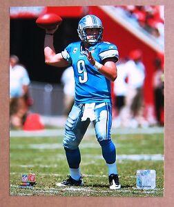 Matthew Stafford Detroit Lions Quarterback QB 8x10 color Photo!
