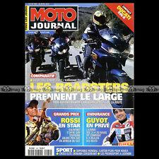 MOTO JOURNAL N°1469 SUZUKI 1200 BANDIT YAMAHA FZS 1000 FAZER  MOTOGP WELKOM 2001