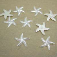 NEW DIY 50pcs 19MM size Resin starfish Beige Flatback Scrapbooking For craft Art