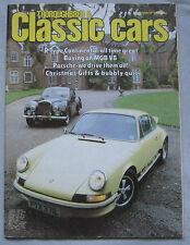 Classic Cars 12/1982 featuring MG B GT V8, Porsche 934, Bentley Continental