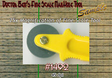 Fine Scale Nail Hole Tool Doctor Ben's Scale Consortium for 1;87/HOn3/HOn30