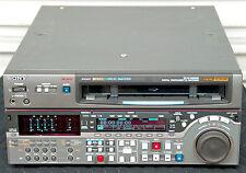 SONY DVW-M2000P PAL DIGIBETA REC & PLAYS BETA/SP SX IMX MPEG - 1289 DRUM HRS