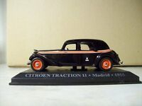 MODELLO DIE CAST SCALA 1:43 TAXI CITROEN TRACTION 11 MADRID 1955 ( d4 )