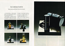 PUBLICITE  1979   LANVIN   parfums  (2 pages)