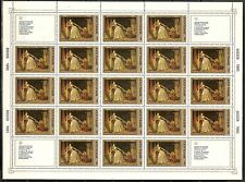 USSR 1984..SHEET n°5165..YT9€..MNH 10k.HERMITAGE, PAINTINGS BY FRENCH ARTISTS