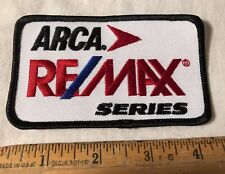 ARCA Re/Max Racing Series Patch NASCAR Auto Automotive Stock Car Sew On