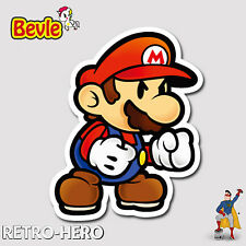 Nintendo Aufkleber Mario Sticker Wasserfest für Auto Laptop Pc Handy Angry Bevle