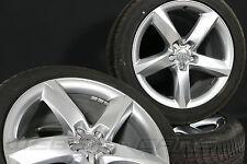 AUDI a8 4h 19 pollici Cerchi in lega alluminio completamente RUOTE CERCHIONI + GOMME ESTIVE 255 45 r19