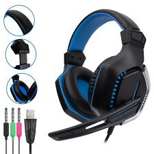 Gaming Headphones with Mic and LED for PS4 PC Xbox Laptop Mobile by Orzly