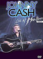 Johnny Cash - Live at Montreux 1994, Very Good DVD, Johnny Cash,