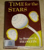 Time for the Stars Robert A. Heinlein HC DJ 1956