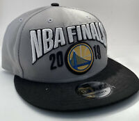 Golden State Warriors 2019 NBA Finals New Era 9FIFTY Snapback Hat - 1-Size Gray