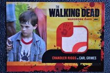 Walking Dead Season 1 M4 Variant Carl Grimes RARE Costume Wardrobe Trading Card