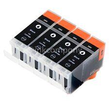 4 Patronen für PGI 5 black XL CANON MP610 MP800R MP600R MP810 MP830 MP970 MX700