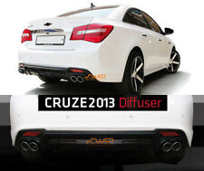 [Kspeed] (Fits: CHEVROLET 2013+ Cruze) Rear diffuser - made in Korea