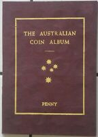 Collection of Australian Pennies only Missing 1930 - in Dansco Album
