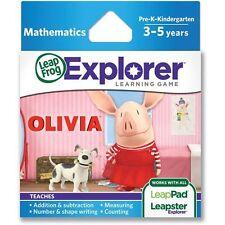 LEAPFROG LEAPSTER LEAPPAD EXPLORER LEARNING GAME: OLIVIA