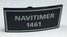 BREITLING NAVITIMER 1461 Chronograph Watch Stand Plaque Display Steel Gold OEM