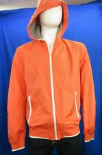 United Colors of Benetton lightweight peach/orange hoody zip jacket Size L IT 50