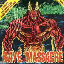 Rave Massacre Vol. V - 2CD NEU OVP - HARDCORE GABBER