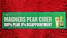 """Magners Pear Cider Bar Runner Mat 35"""" x 9.5"""" Rubber Backed Mancave Breweriana"""