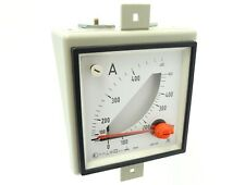 Amperemeter Strommesser Ammeter Messwerk Messinstrument 96x96mm 0...400A 5A