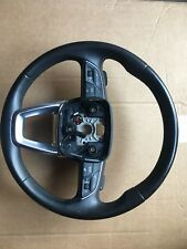 multifunction leather steering wheel with shift paddles Audi A4 8W B9 Q5 FY 2017