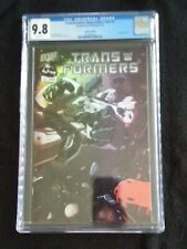 Transformers: Generation 1 vol2 #1 CGC 9.8 White Pages - Holofoil Edition