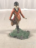 VINTAGE 1979 FRANKLIN MINT CHILDREN OF THE WORLD - ENGLAND - HAND PAINTED PEWTER