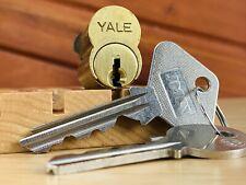 Yale LFIC Lock Core w/ Control & Operating Keys Locksport