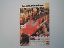 advertising Pubblicità 1985 LEGO