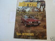 AUTOREVUE 1974-07 BMW 525,CHAMPIONS RACE ICKX,GULF,MARTINI,NMB TEAM ,NEFF,LE MAN