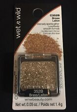 NEW Wet n Wild Glitter Single Color Icon C352B Brass Gold Sealed