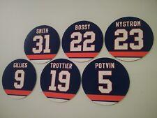 New York Islanders Magnets Retired Jerseys | Bossy Trottier Nystrom Smith Potvin