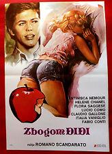 THE TITBIT 1976 ITALIAN SEXY HELEN CHANEL LUCIO COMO CONTI EXYU MOVIE POSTER