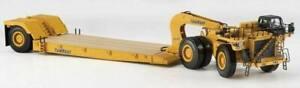 Norscot 55220 Caterpillar 784C Tractor w/TowHaul Lowboy Trailer 1/50 Diecast MIB